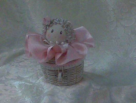 Bomboniera baby rosa