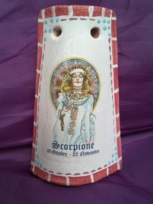 "Tegolina ""Scorpione"" segni zodiacali"
