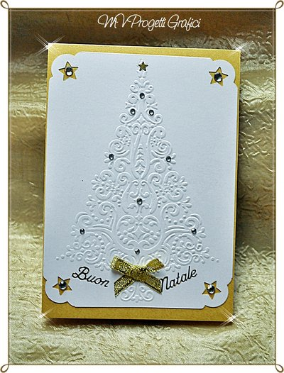 CARD ALBERO DI NATALE - CHRISTMAS TREE