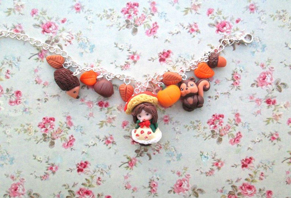 bracciale autunno,bracelet autumn