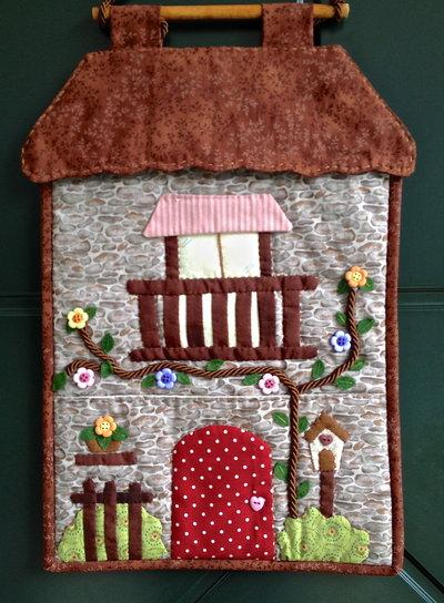 Pannello porta posta Casa in montagna
