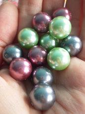 10 Perle in 3 COLORI