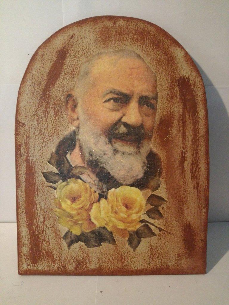 Icona Padre Pio -----TIPO 2 -----