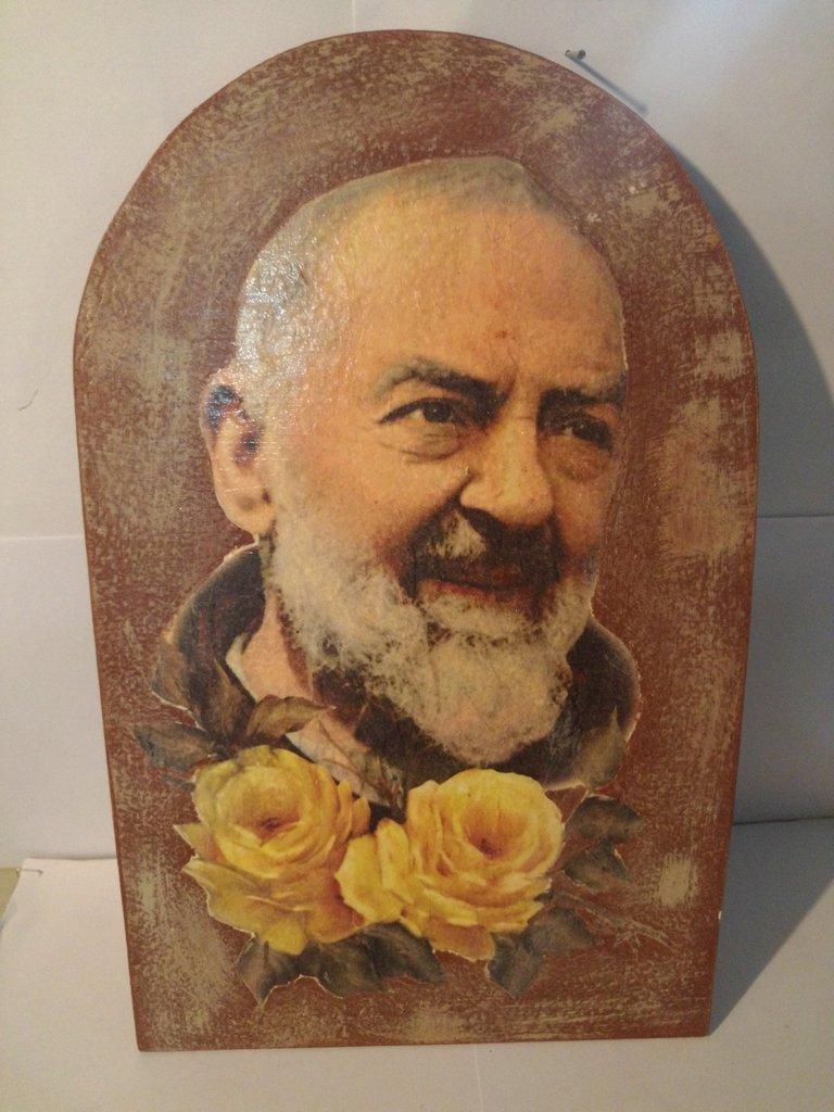 Icona Padre Pio -----TIPO 4 -----