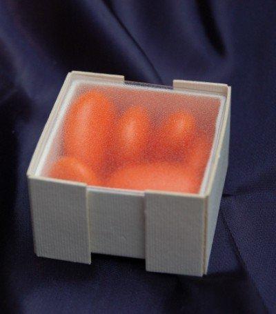 Scatola quadrata piccola con coperchio trasparente
