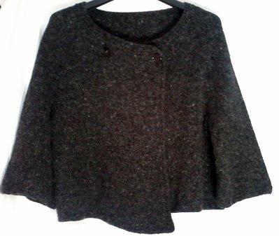 mantella poncio giacca maglia donna