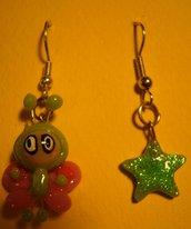 """orecchini """"farfalla e stella"""""""