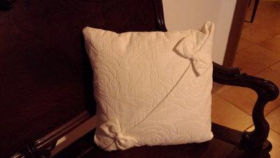 Cuscino damascato cotone