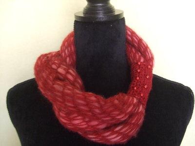scalda collo sciarpa donna lana