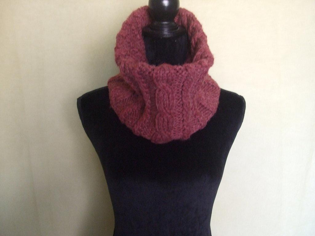 scalda collo sciarpa lana donna