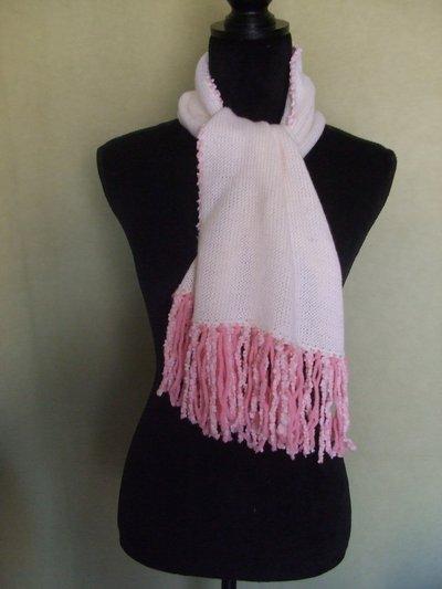 sciarpa scalda collo bimba lana + cappello
