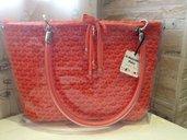 Crystal Bag... 3 borse in 1. Borsa in cordino con sacca trasparente che la rende unica