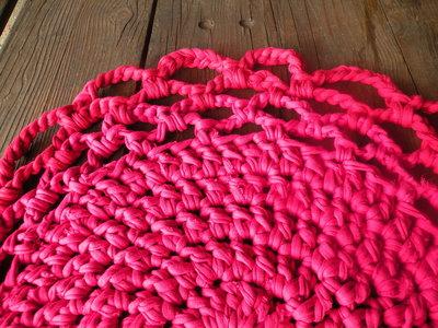 tappeto fiore rosso - bandullera
