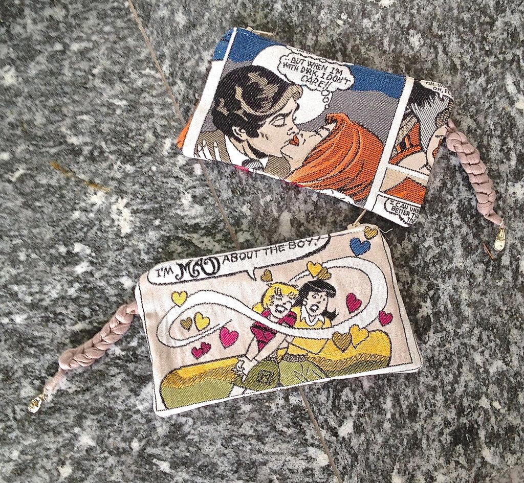 pochette fumetto