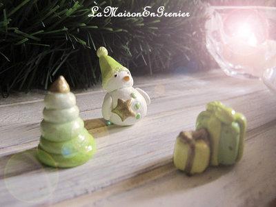 segnaposto natalizi - i verdi-