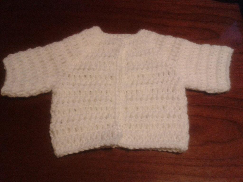 Giacchina Di Lana Neonato Bambini Abbigliamento Di Langolo C