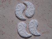 Gessetti profumati con rilievi, misura 8,5 X 4,5 cm