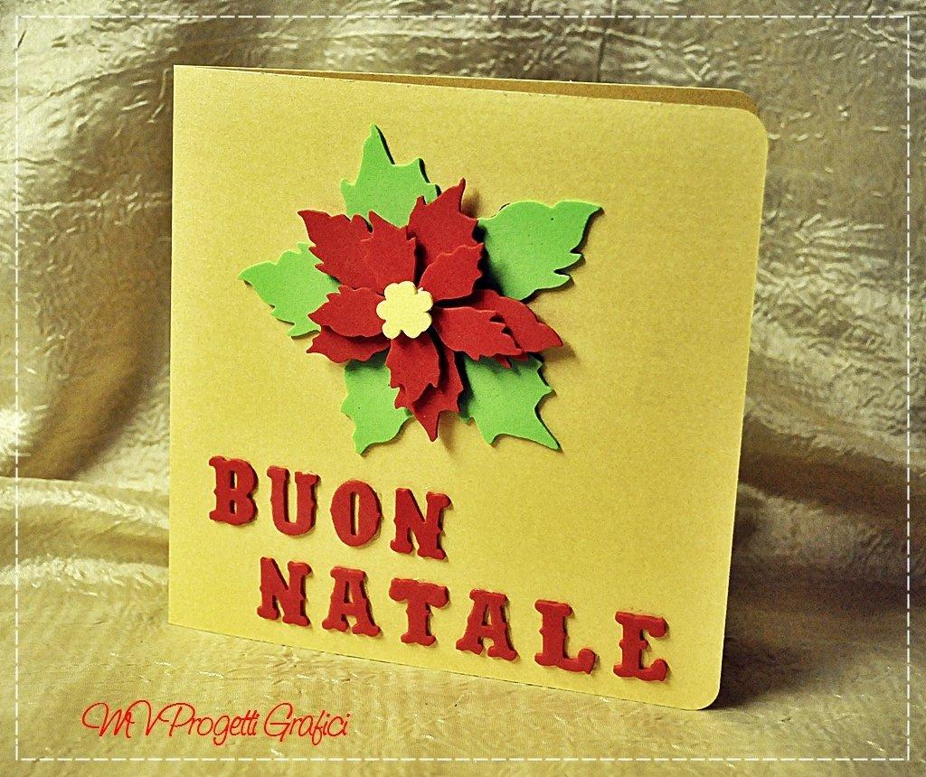 """BIGLIETTO NATALIZIO """"STELLA DI NATALE"""""""