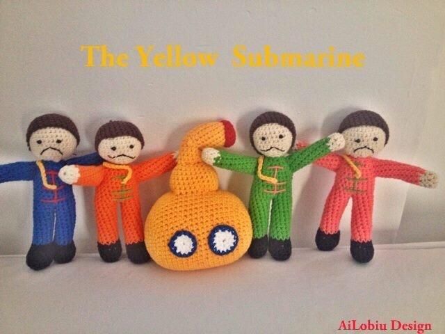 Amigurumi - Sottomarino giallo