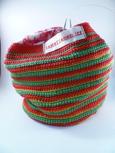 borsa porta lavoro rossa