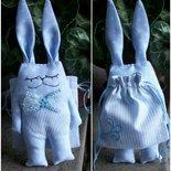 Bomboniera Coniglio  per battesimo, compleanno, nascita, comunione