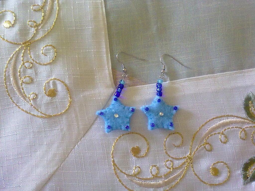 orecchini stella!