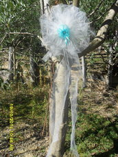 Coccarda in tulle