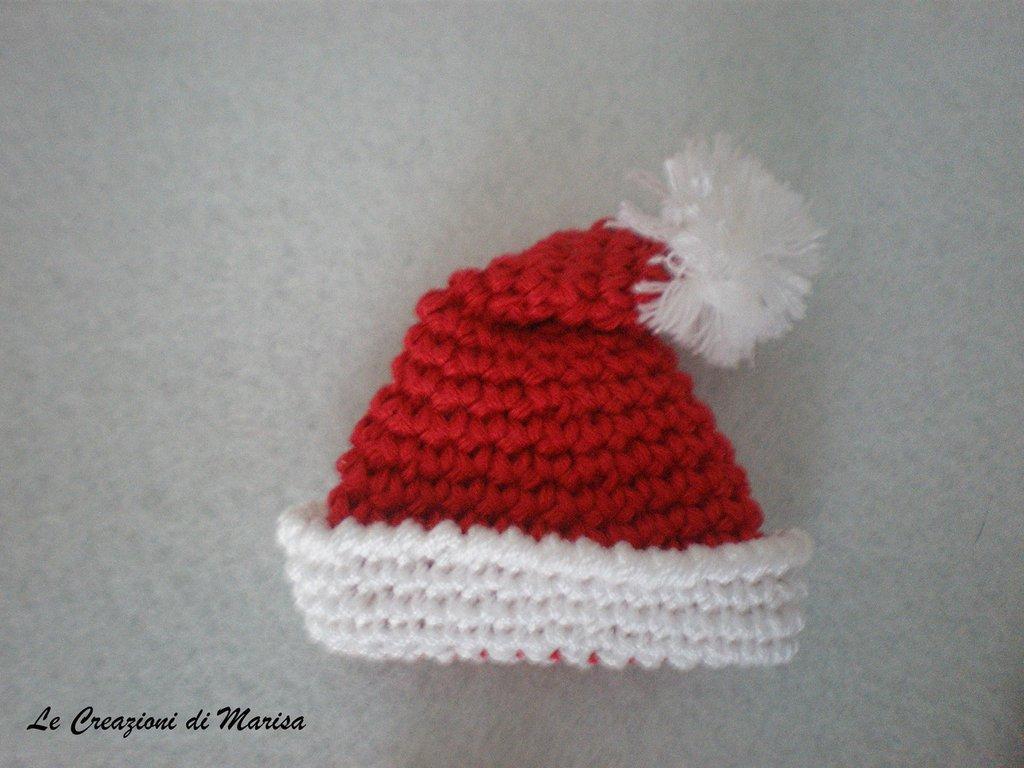 Calamita cappello rosso Natale