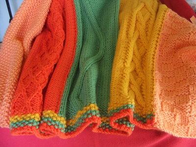 coperta singola lana maglia