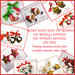 """Box di Natale!  """"10 paia di Orecchini  di Natale a sorpresa """" Bijoux natalizi Idea regalo economica donna bambina fimo cernit"""