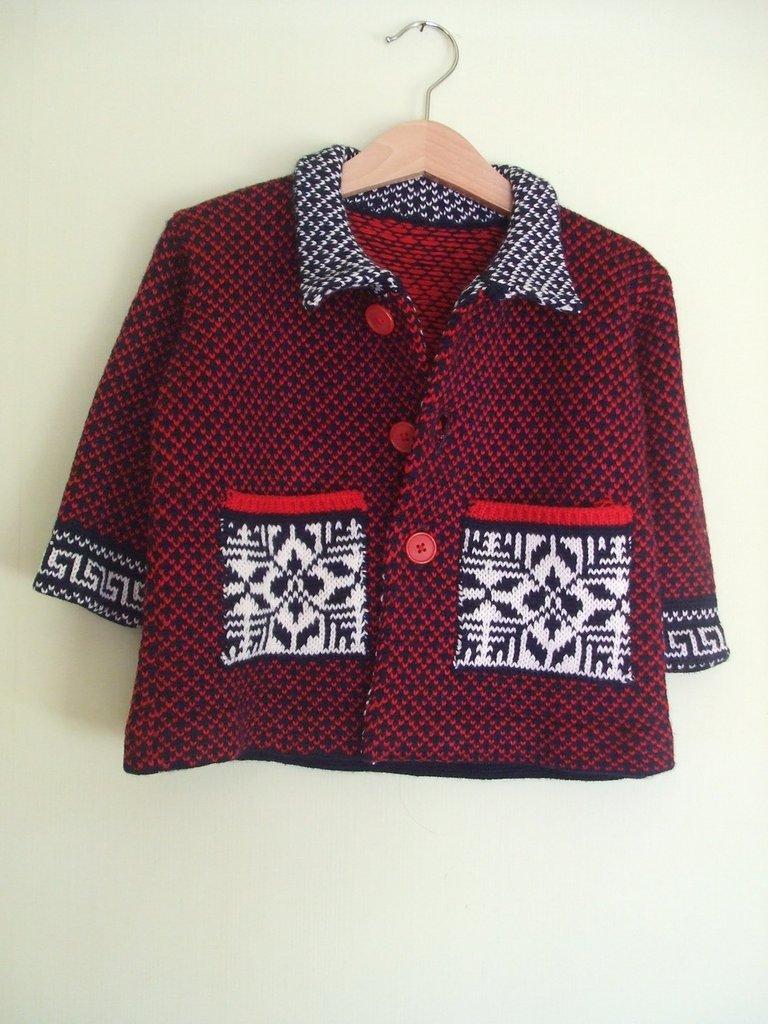 cappotto bimbo lana maglia