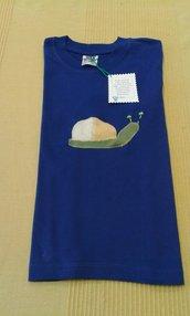 Maglietta con decorazione - lumaca