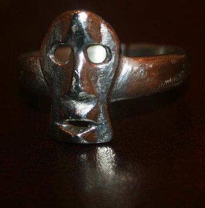 Anello acciaio inox