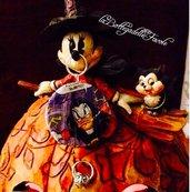 Ciondolo medaglione Halloween