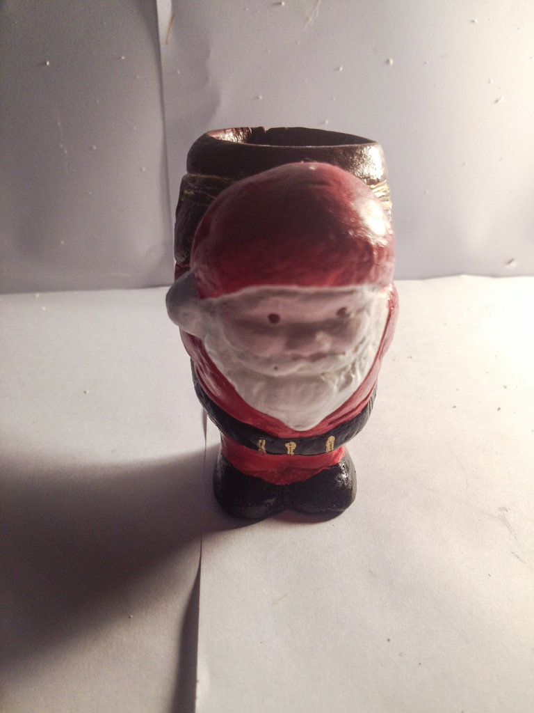 Babbo Natale Portacandela