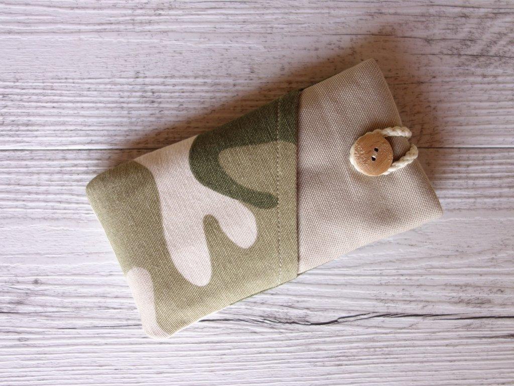 Cover custodia per SMARTPHONE imbottita Camouflage - scegli il modello di smartphone