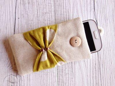 Cover custodia per SMARTPHONE imbottita Renna & Pois - scegli il modello di smartphone