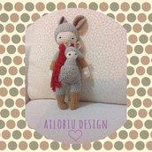 Amigurumi - Mama canguro