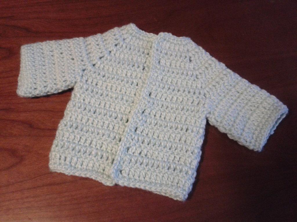 Giacchina di lana neonato