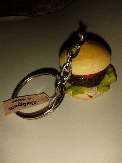 Portachiavi Hamburger