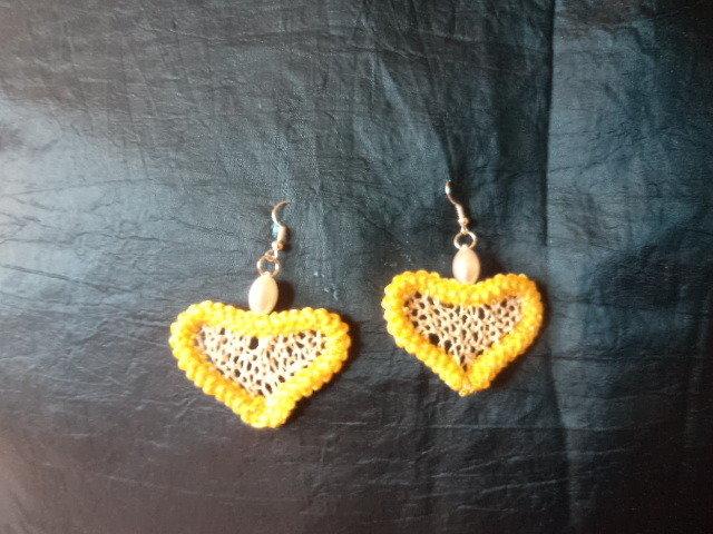 orecchini cuore e sole