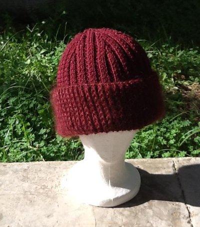 Cappello donna con risvolto calzata perfetta