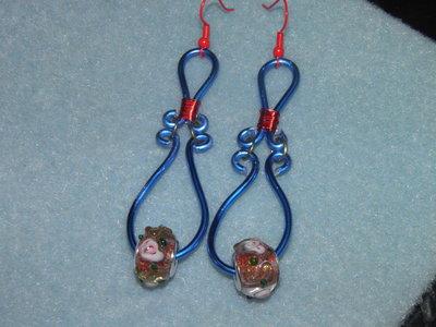 orecchini stile wire