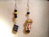 orecchini  anime - Light Yagami - death note