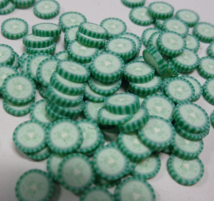 118 Fettine Cetriolo da Polymer Clay Canes