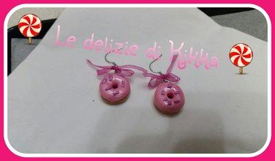 orecchini donuts / ciambelle