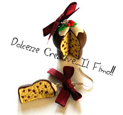 ☃ Natale In Dolcezze  ☃ Panettone con canditi e cioccolato con fiocchi