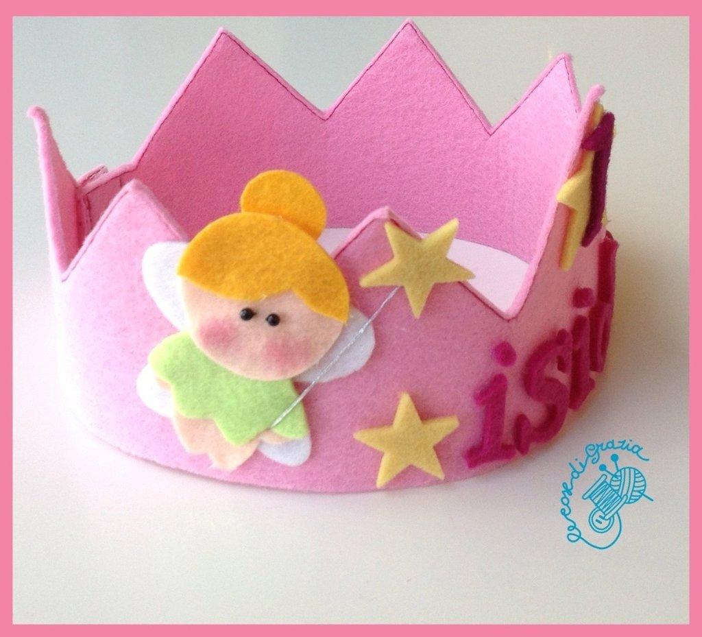 Corona personalizzata con nome