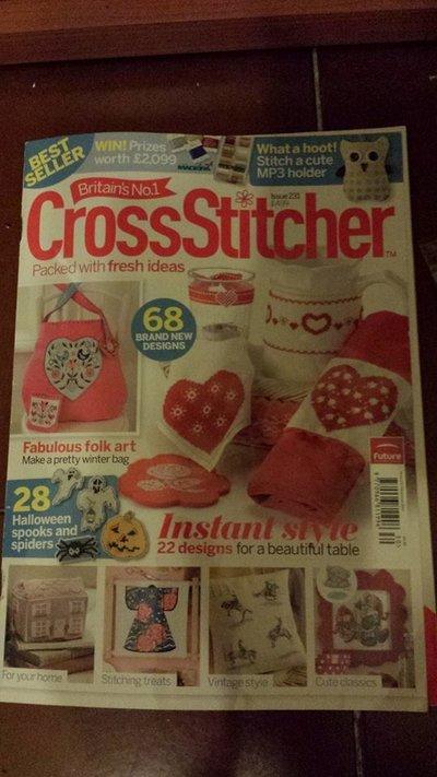 Vecchi Numeri di Cross Stitcher