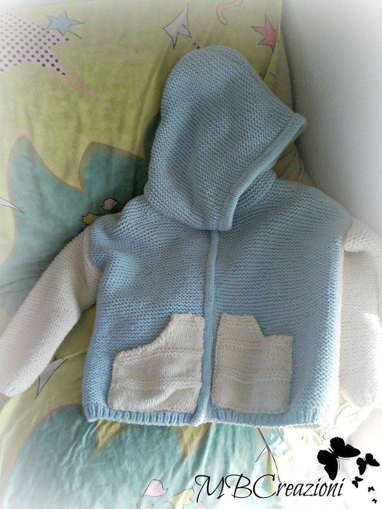 Giaccone in maglia